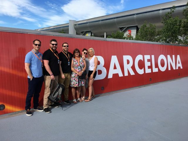 Energi People Get Into Formula 1 In Barcelona